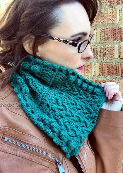 Teton Valley Cowl Crochet Pattern
